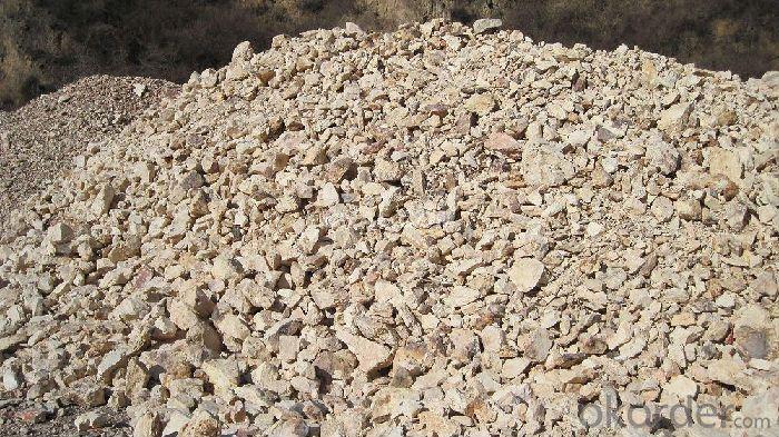 86% Rotary Kiln Alumina Calcined Bauxite Refractory Raw Material