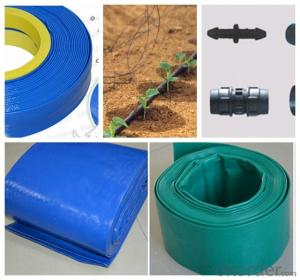 Plastic Agriculture Farm Water-Saving Drip Irrigation Hose / Tube / Pipe / Tape