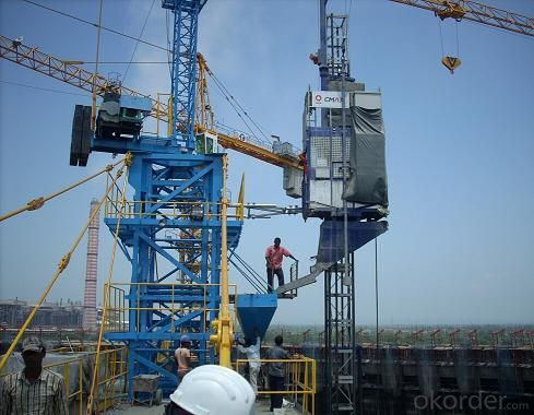 Building Hoist SC200/200B with  Double Cages