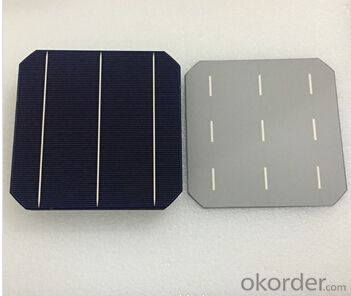 Monocrystalline Solar Cells A Grade  156*156mm with Trusted After-sales Service