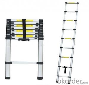 Aluminum Telescopic Ladder , Multiple Application