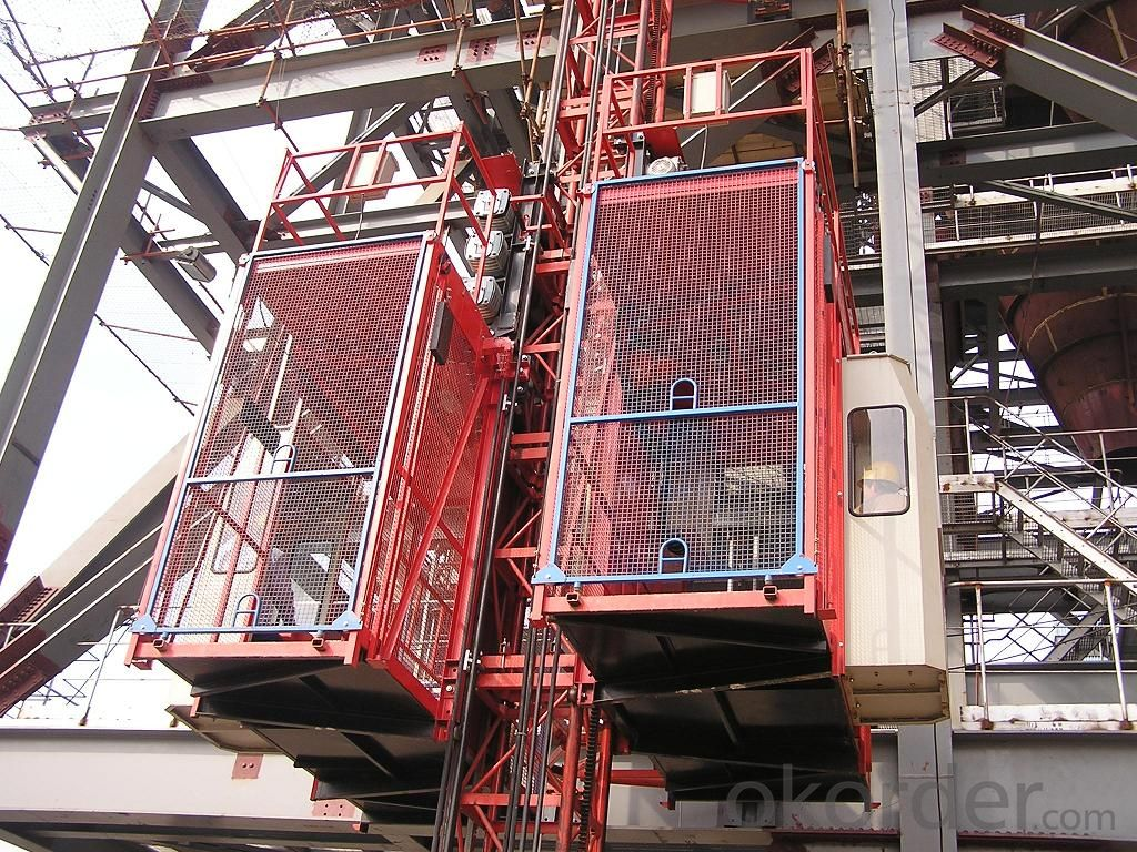 SC100 Single cage construction hoist