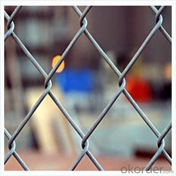 PVC Coated Chain Link Mesh Fence High Quality Factroy Price