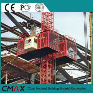 Building Hoist with Double Cage(SC200/200) CE Approved