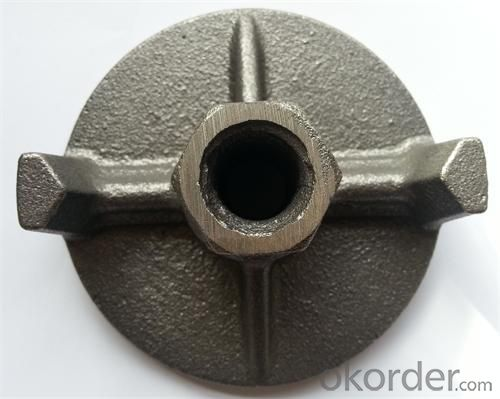 Formwork Parts Plate Nut with Black Or Painting by Casting