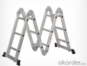 Anodized Aluminum Telescopic Ladder,Home and Industrial Use