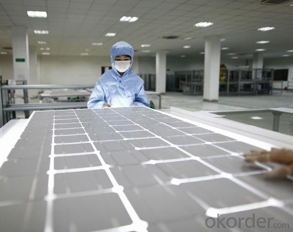 50w Mini PV Solar Module 156 Solar Cell Solar Energy Lighting