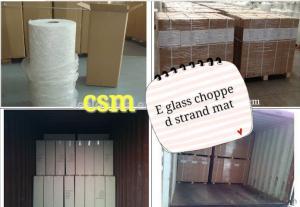 E Glass Fiberglass Chopped Strand Mat Used with Powder Binder