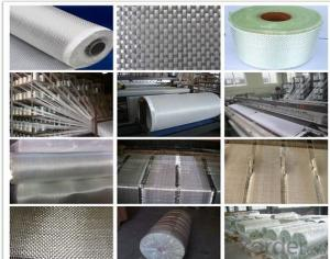 Glass Fiber Woven Roving Fabric/Cloth Roll