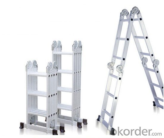 buy aluminum telescopic ladder for home and industrial. Black Bedroom Furniture Sets. Home Design Ideas
