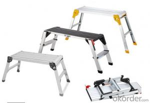 Aluminium Platform Ladder,Adjustable  and Hot Sale