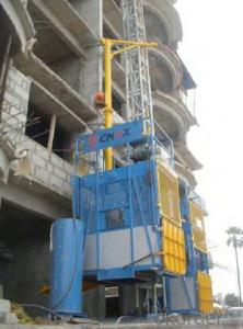 VVVF Speed Building hoist (Middle speed) with CE and ISO9001 Approved