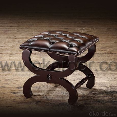 Baron Footstool with Simple and Elegant Frame