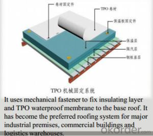 PMT Thermoplastic Polyolefin(TPO) Waterproof Sheet