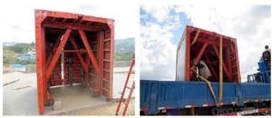 Heavy Duty Whole Steel Formwork for Bridge Construction