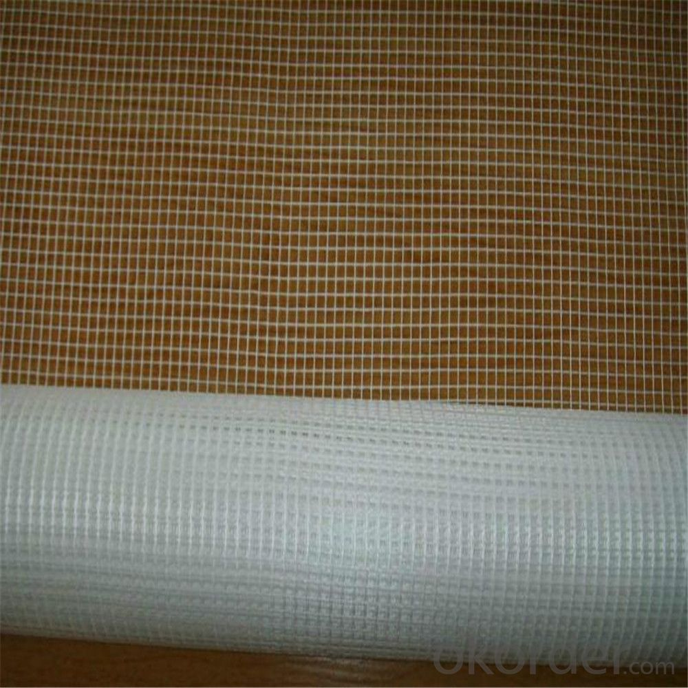 45gsm,5mm*5mm Fiberglass Marble Mesh for Buildings