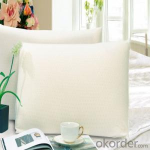 Standard Function Latex Foam Pillow Milk White