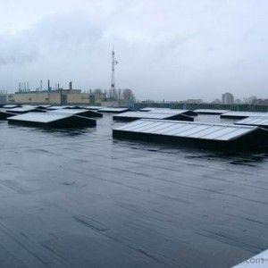 Single Layer Roofing Vulcanized EPDM Waterproof Membrane Black Color for Roof and Basement