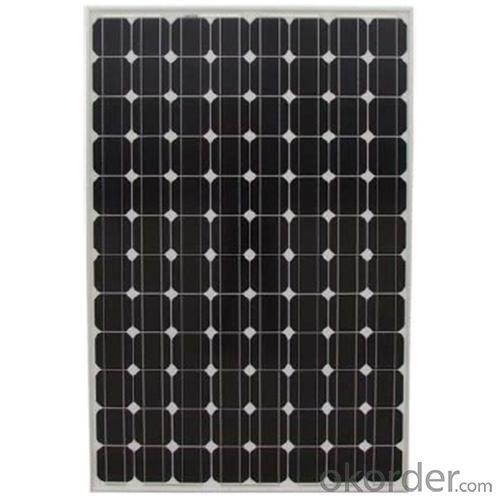 High Efficiency Monocrystalline PV Module Black Backboard 250W-260W