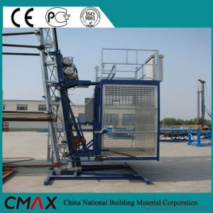 Double Cage Building Construction Hoist Hot Sale