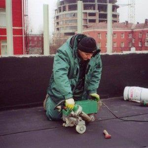 Weldable EPDM Waterproof Sheet Width1~4m Thickness 1.2mm~2.0mm for Basement Pond