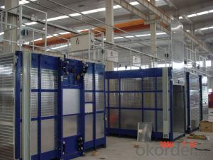 Power Motor Construction Hoist with CE ISO
