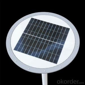 9W Solar Plaza Light Solar Street LED Light