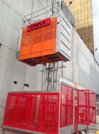 Building hoist/building construction hoist (Middle speed) with CE and ISO9001 Approved