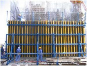 Timber Beam Formwork for Cantilever Climbing Formwork