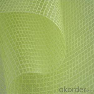 60gsm ,5mm*5mm Fiberglass Marble Mesh for Buildings