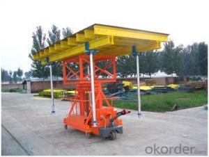Timber Beam Formwork and Steel Prop Support for Table Formwork