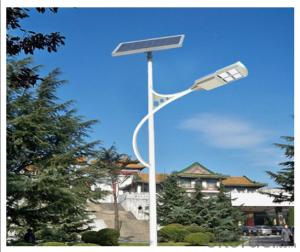 Solar street courtyard light 160W, 17% efficiency