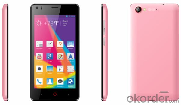 5.0 Inch Smartphone Mtk6582 Quad Core Android 4.2 WiFi 3G WCDMA Smartphone