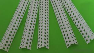 Fiberglass Mesh PVC Corner Bead for House Construction