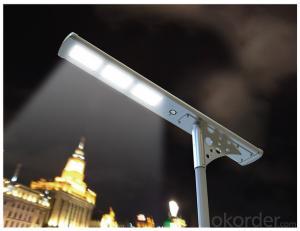 Solar Street/Courtyard Light  33W Solar Street Light