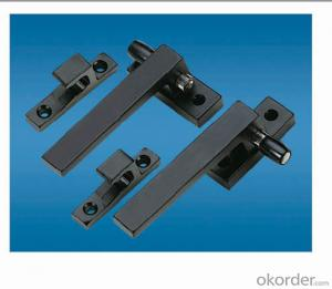 Aluminum Handle/Window Handle/Casement Handle with Modern Type DH03