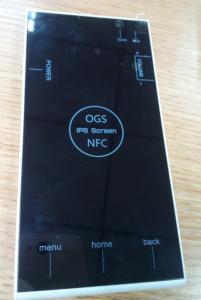 5 Inch Smartphone OGS Octacore Mtk6592 Super Low Slim Design 3G Smartphone