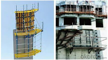 Climbing Platform CP190 for High Building Construction