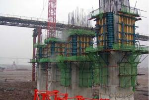 Vertical Structure Support System for Climbing Bracket CB240 & CB210