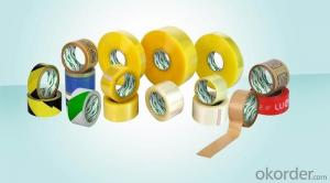 Jumbo Roll Colorful Adhesive  Packing Bopp Tape