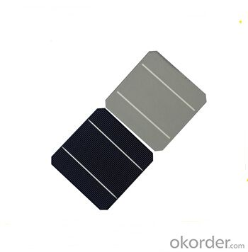 Monocrystalline Solar Cells Format : 156 mm X 156 mm