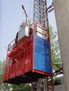Electric Building Construction Hoist Lift Elevator