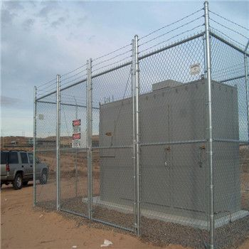 Chain Link Fence(PVC&Galvanized) Hot Dipped Galvanized Chain Link Fence