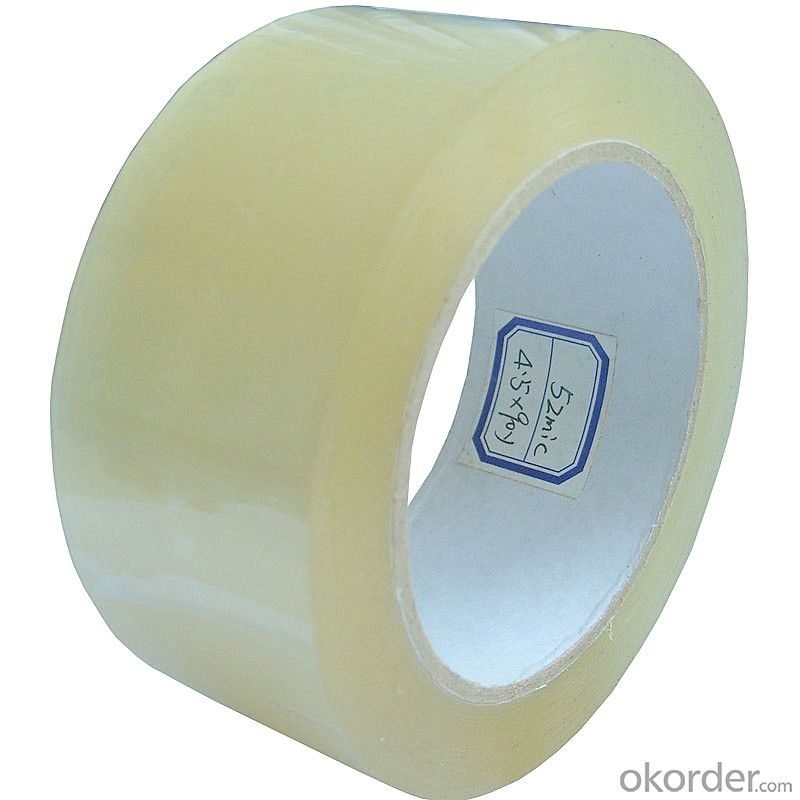 Crystal Clear  Bopp Self-Adhesive Packing Tape
