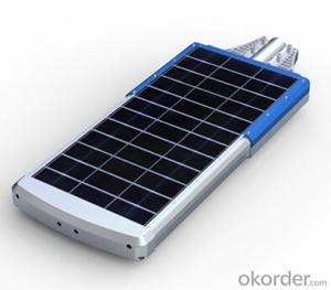 Solar Street  Light 4000 Lumens EL-40 Series