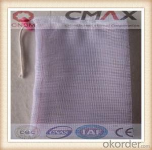 Small Drawstring Mesh Bag/PP Leno Mesh Bag Made In China