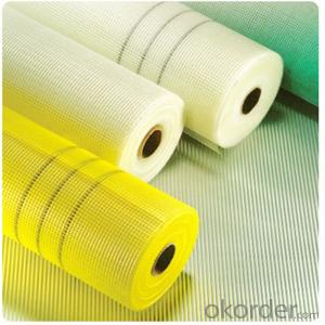 Alkali Resistant Fiberglass Marble Mesh for Buildings 80gsm ,5mm*5mm