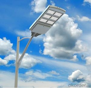 Solar Street  Light 4000 Lumens EL-40 Series