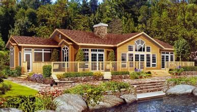 Prefabricated Wooden Log House Made in China