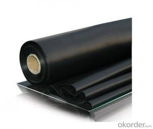 EPDM Rubber Vulcanization Waterproof Membrane 1.2mm/1.5mm/2.0mm